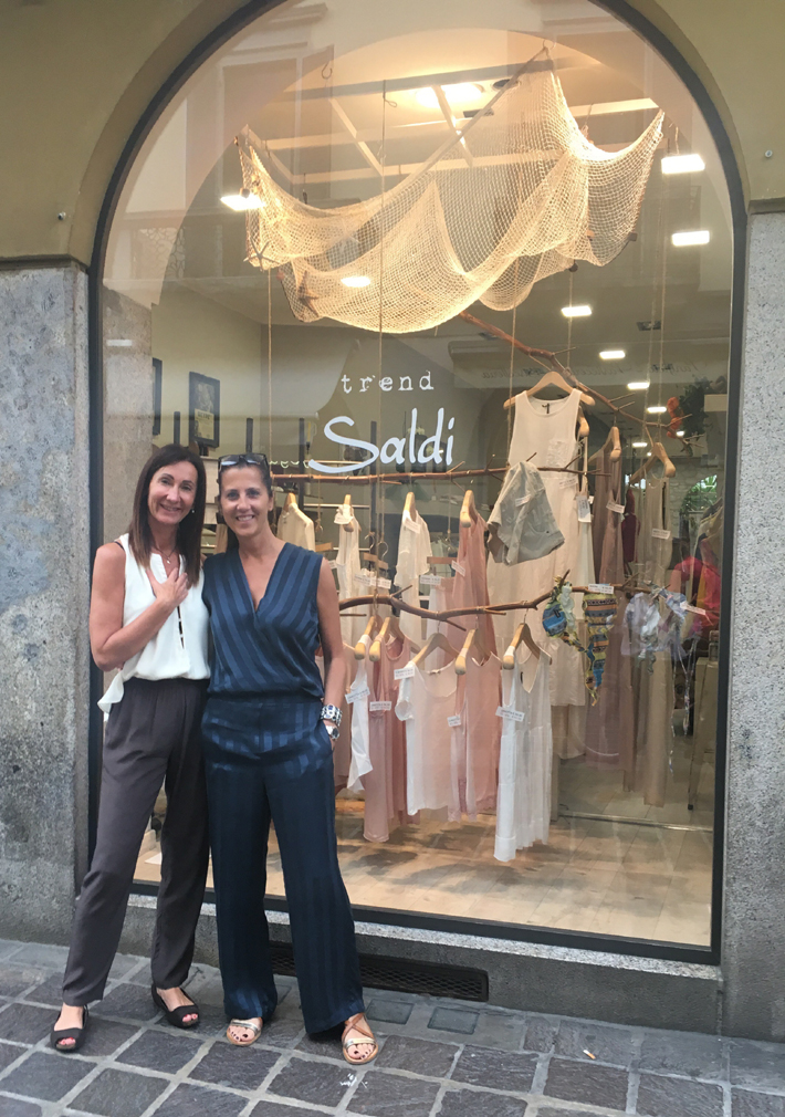 trend boutique shop in monza italy