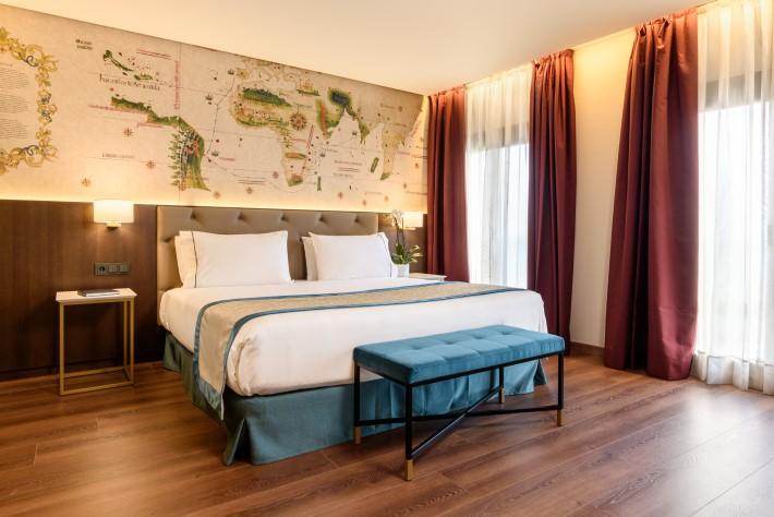 Eurostars Museum Bedroom in Lisbon