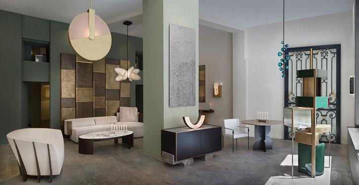 pouenat showroom paris design week 2019