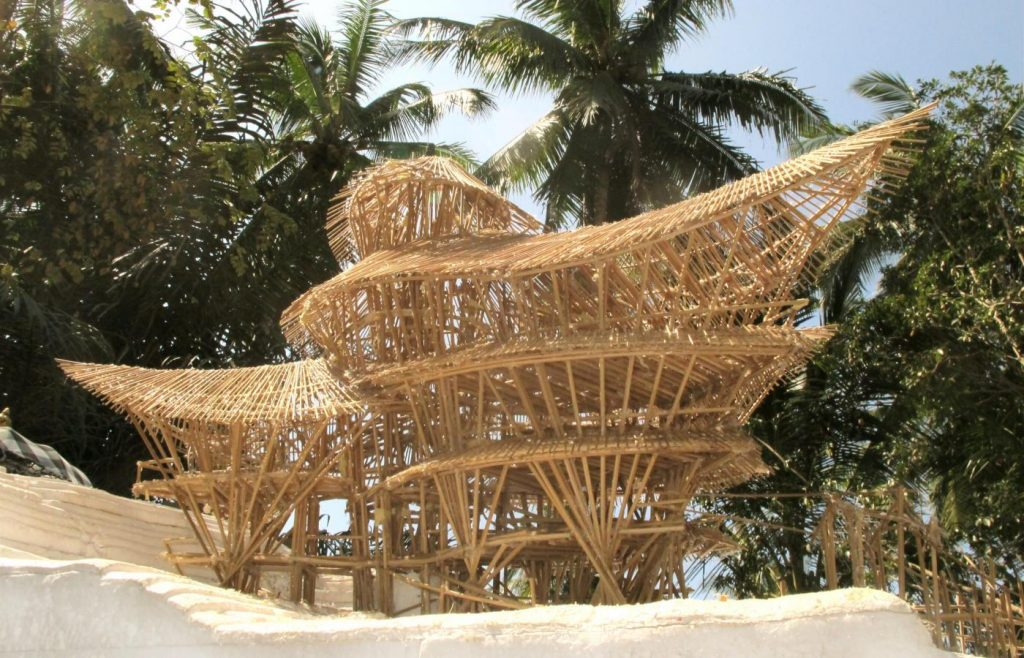 Bamboo Futures by Elora Hardy and IBUKU london design festival 2019 v&a projects