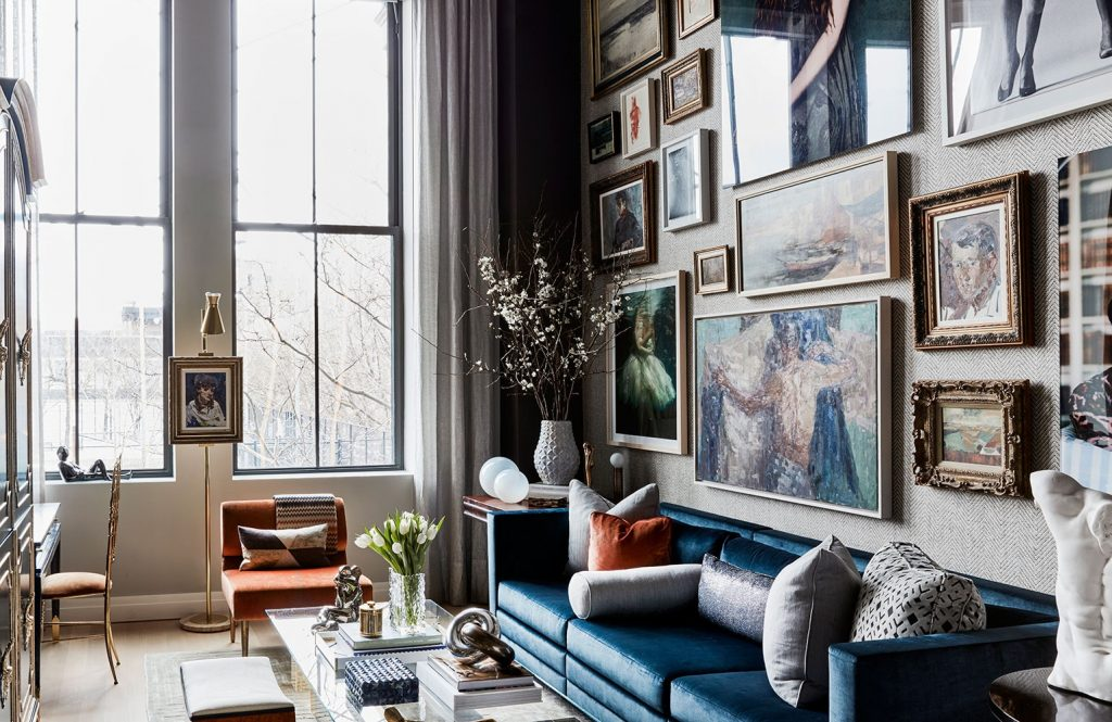 living room with antiques by jordan carlyle carlyle design