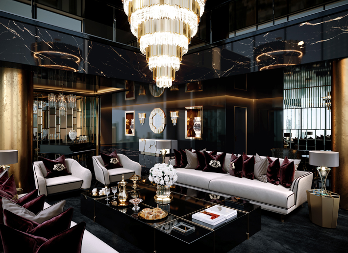 Inside a Dramatic Luxury Interior by Celia Sawyer