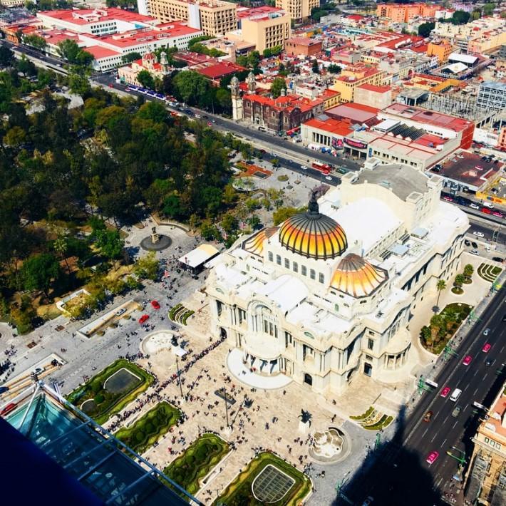 best destinations to visit: Palacio de Bellas Artes, Mexico