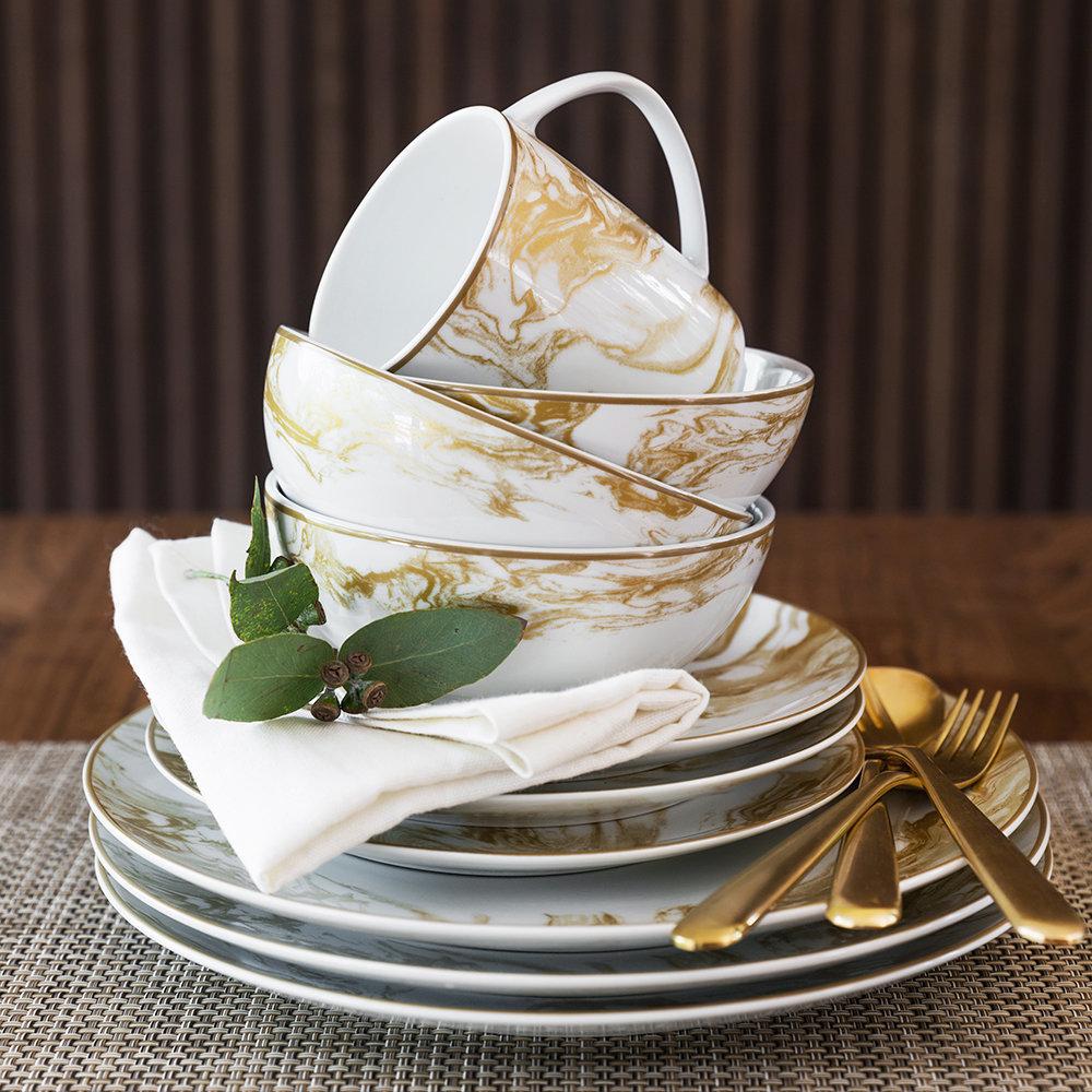 gunnison gold holiday tableware by a by amara