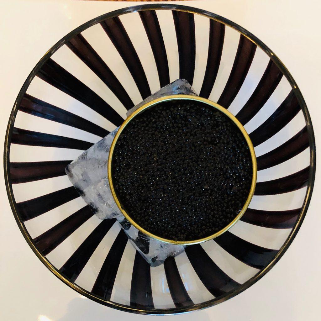 Cartwright NY Canna Dritto Bowl with Caviar