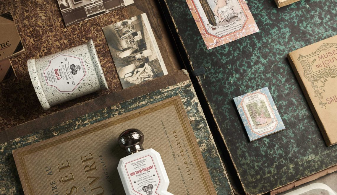 Luxury fragrance partnership between Louvre Paris and Officine Universelle Buly 1803