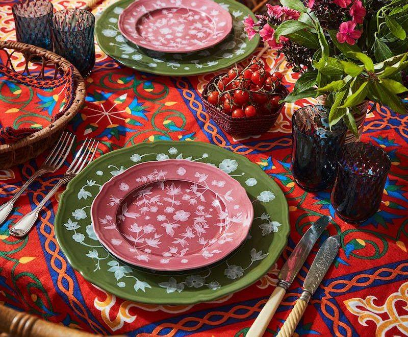 Tabletop Decor Ideas: New Tableware Collection by Carolina Herrera and Cabana
