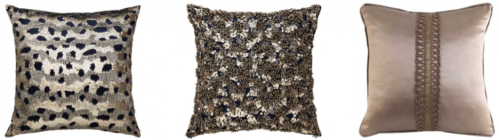 luxury cushions in innovative materials
