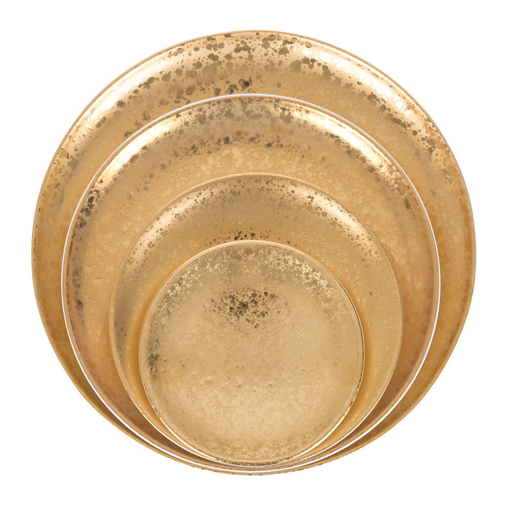 Alchemie 24K Gold tableware collection from L'Objet