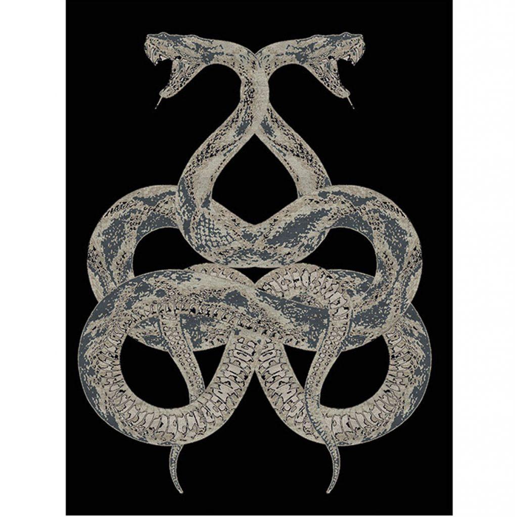 Roberto Cavalli Snake Rug