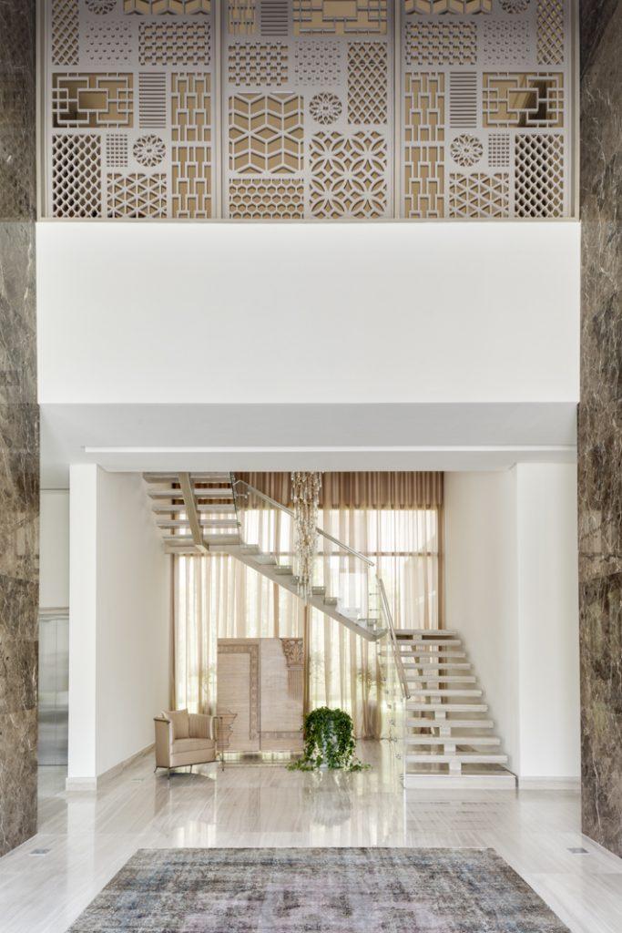 HH Prince Khalid Al Saud's Riyadh Villa designed by Jensen Interior Design (Photo by Mark Luscombe-Whyte)