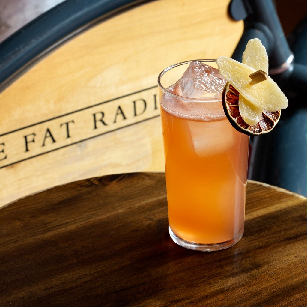 Cocktail from the Fat Radish NYC by beverage photographer Steve Freihon/Tungsten LLC