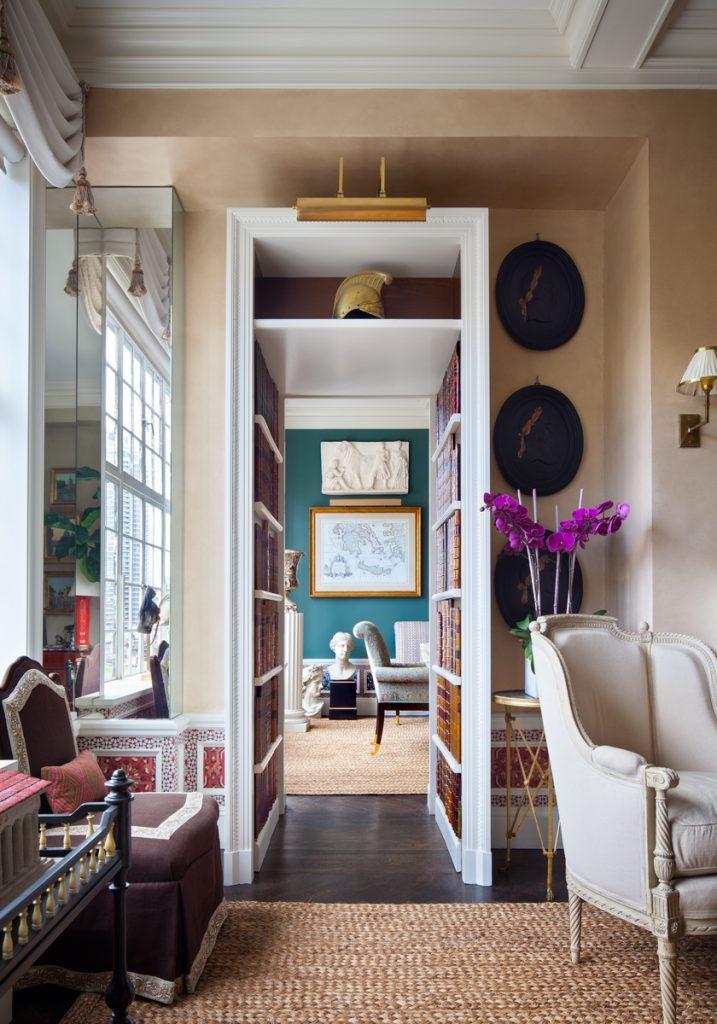 Interior design by Alexa Hampton, NYC, photo by steve freihon