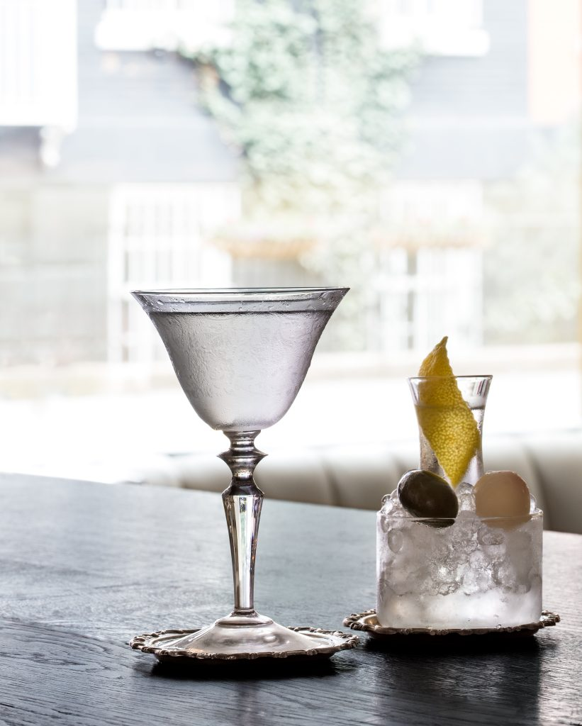 Martini from Dante NYC by beverage photographer Steve Freihon/Tungsten LLC