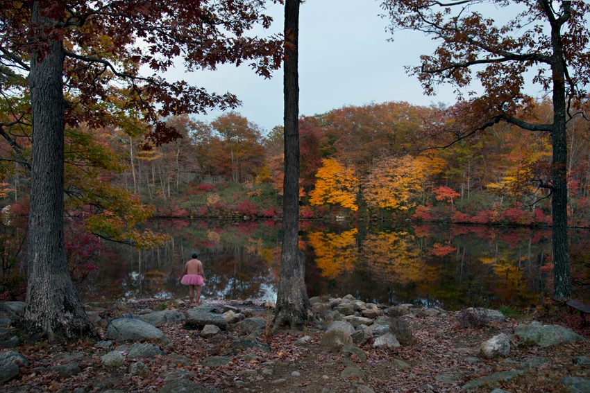 Harriman State Park, New York - the tutu project - breast cancer foundation