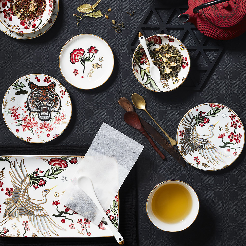 Magical Tiger tableware collection from Tokyo Design Studio