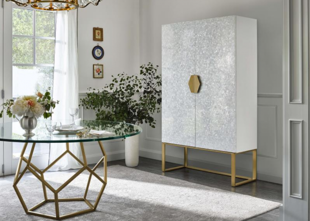 console table and cabinet by miranda kerr home love.joy.bliss collection for universal furniture - high point market fall 2019