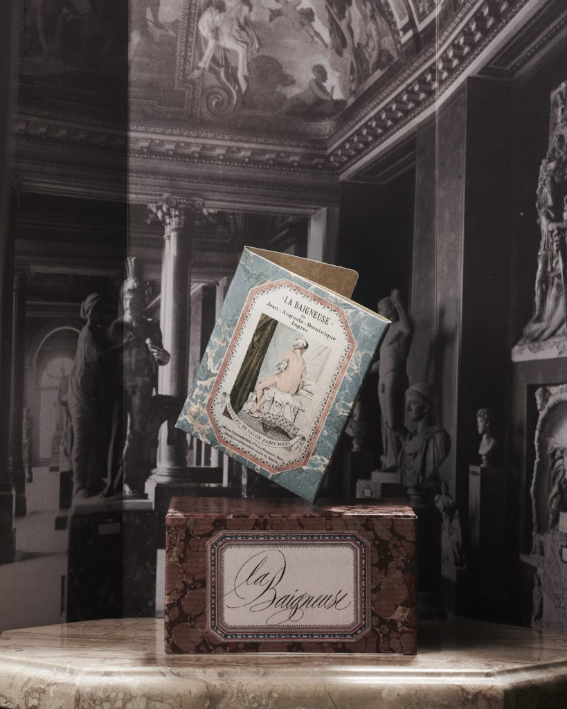 Scented Soap sheets The Valpincon Bather 'La Balgneuse' - luxury fragrance by officine universal buly 1803