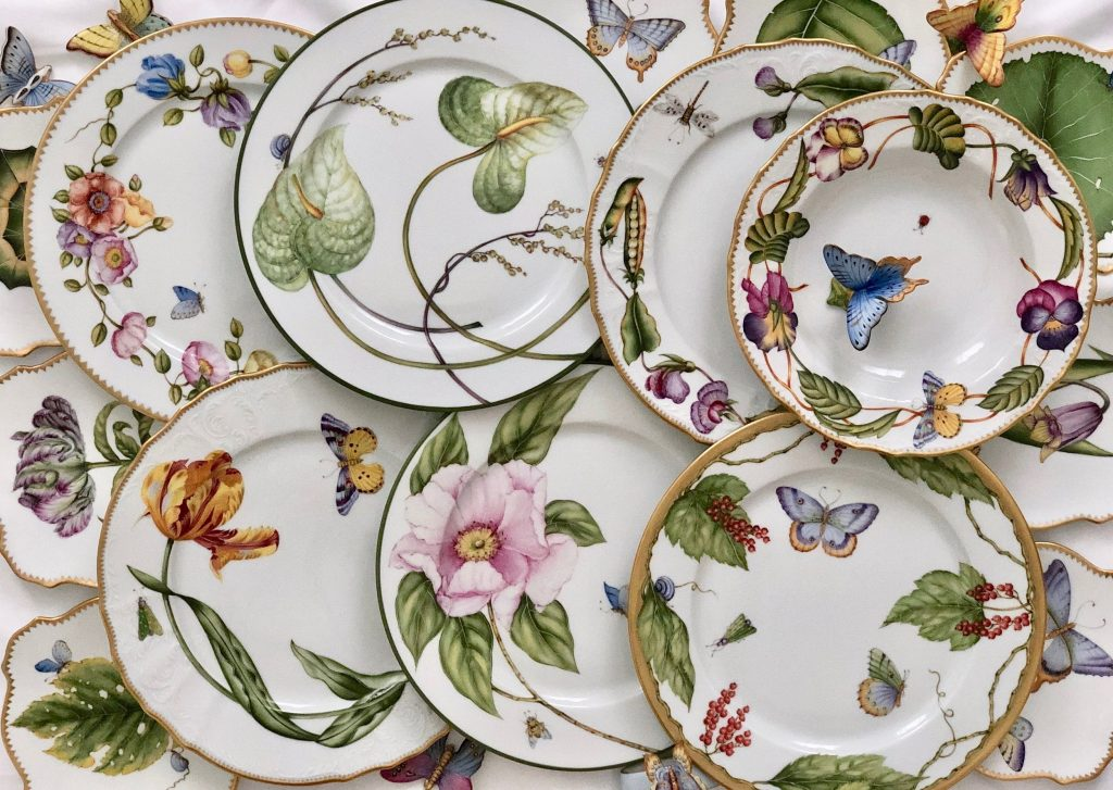 Hungarian Hand Painted Porcelain by Anna Weatherley Designs
