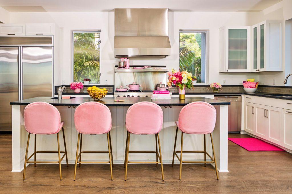 barbie malibu dreamhouse airbnb kitchen
