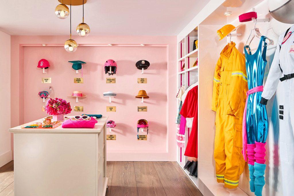 barbie malibu dreamhouse airbnb closet