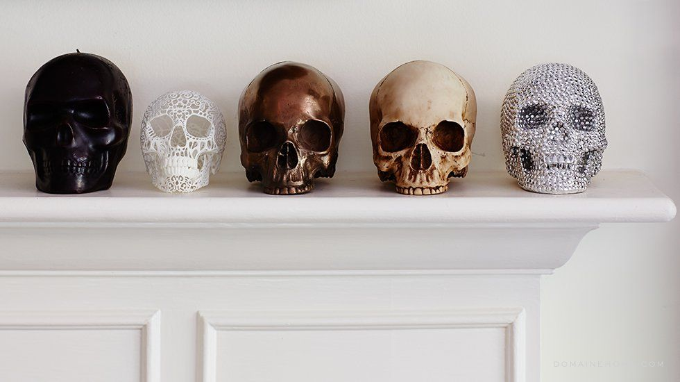 decorating with skulls - dark decor