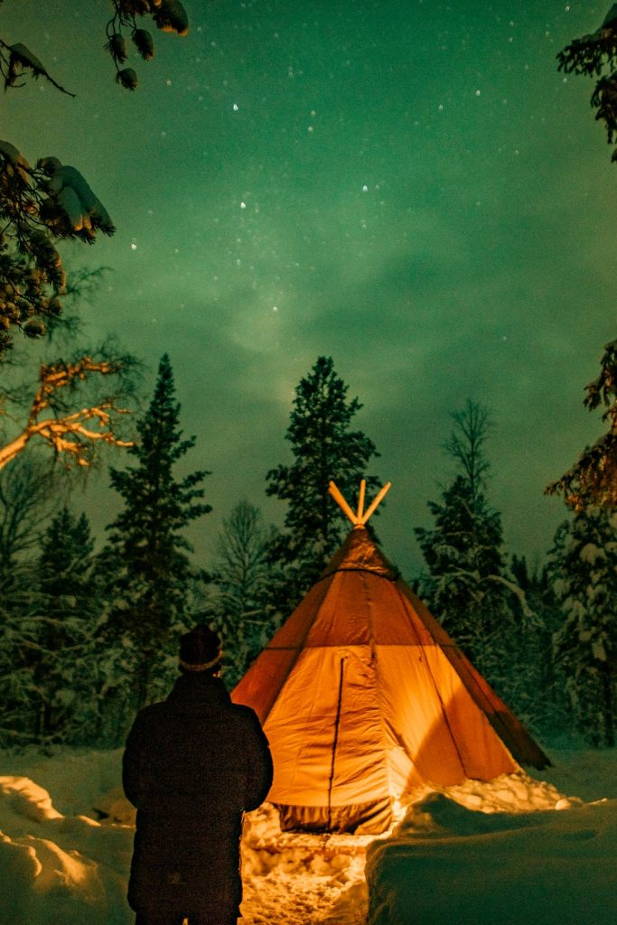 glamp under the northern lights airbnb experiences