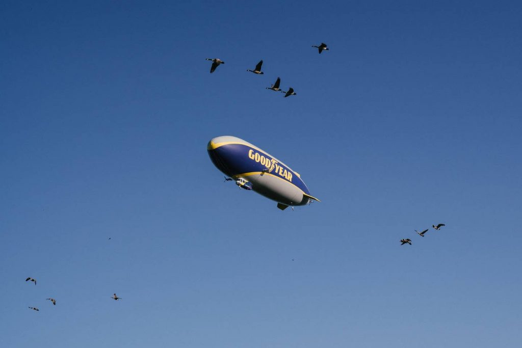goodyear blimp experience airbnb