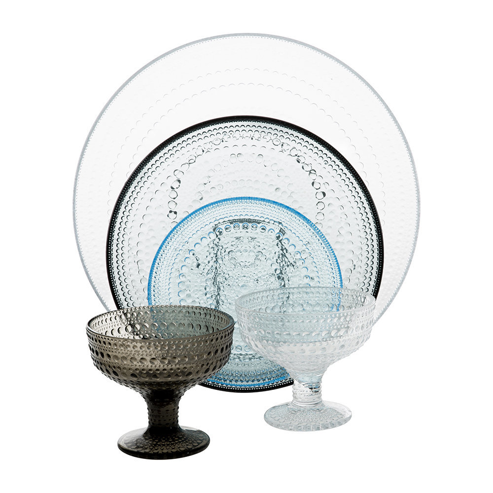 Kastehelmi tableware collection from Iittala