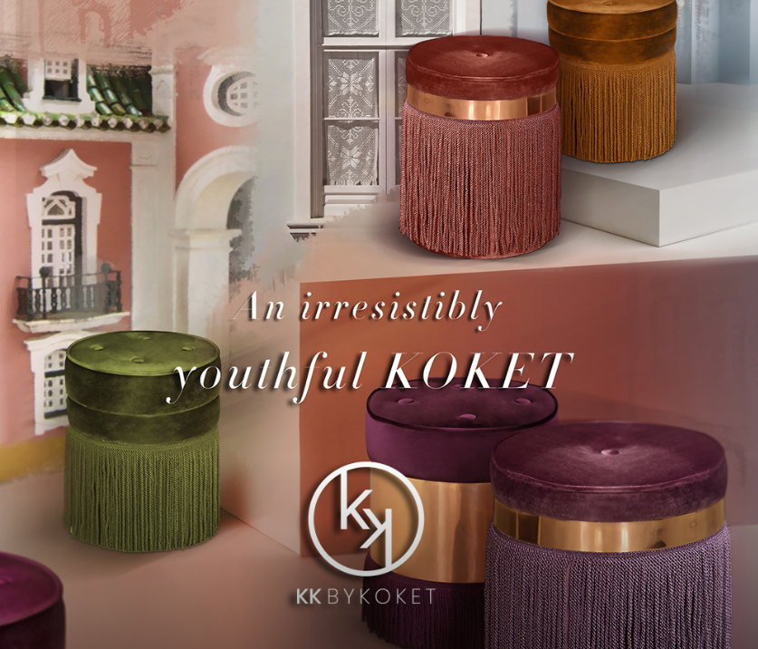 kk by koket youthful luxury furniture collection