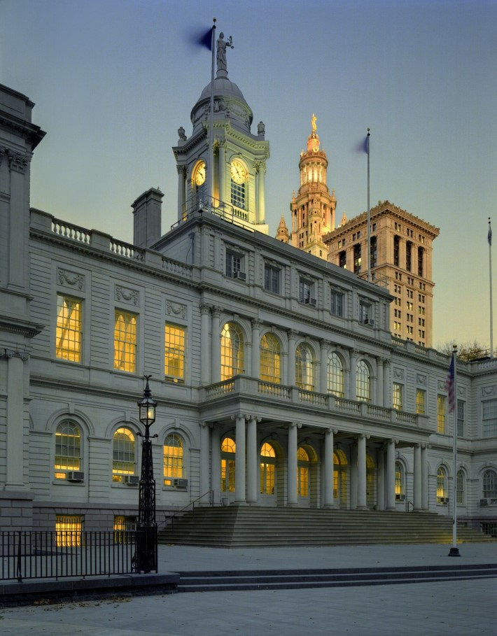 City Hall as part of Open House New York