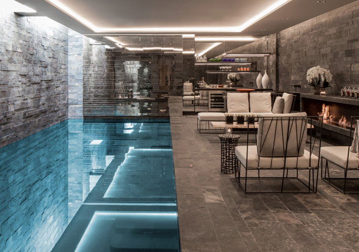 london projects basement pool prime construction design