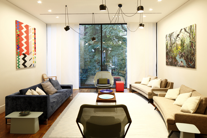 Interior Design of the UN French Ambassador's New York residence by Carolyn Cartwright and Claudia Diaz with Bryce D'Antras