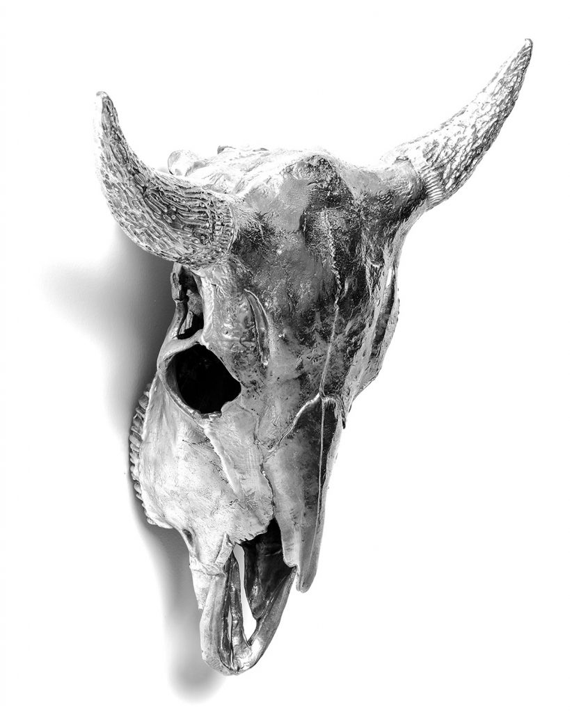 Diesel Aluminum Bison Skull by Seletti