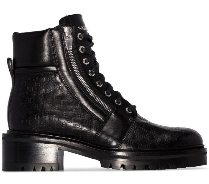 Fashion Trends: Balmain Military Boots