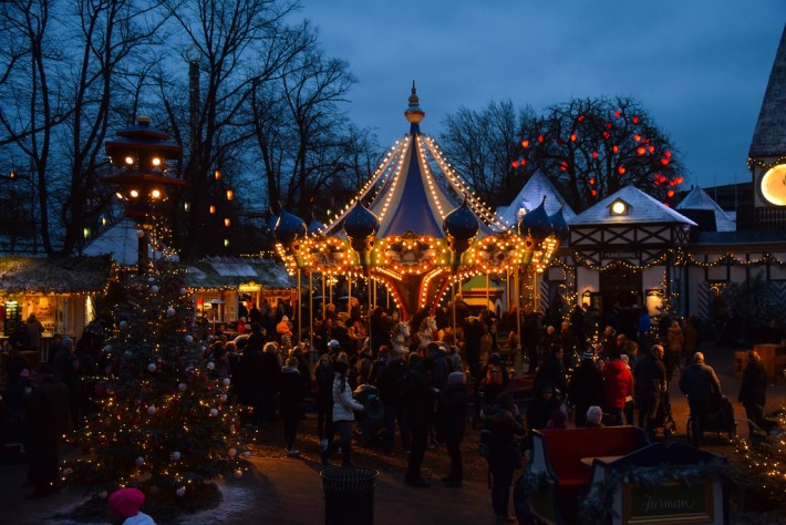 Tivoli Christmas Markets, Copenhagen, Denmark