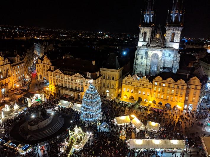 best Christmas Markets in europe - Prague christmas market