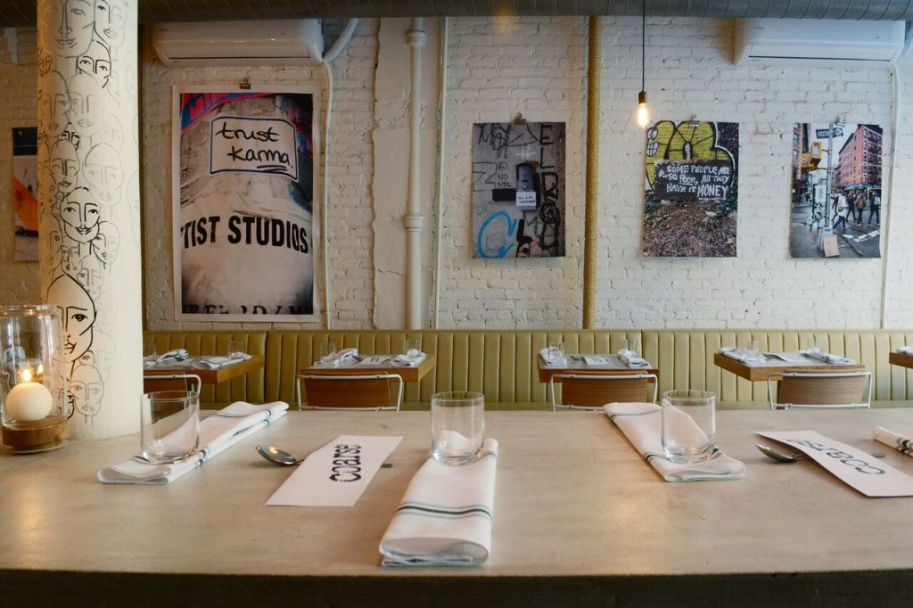 The Coarse Restaurant at the Meatpacking District