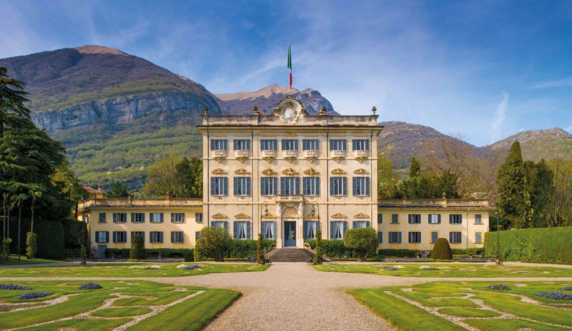 Lake Como Villas: Inside Villa Sola Cabiati