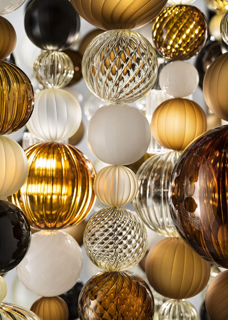 bollicine chandelier by otium - thomas fuchs creative