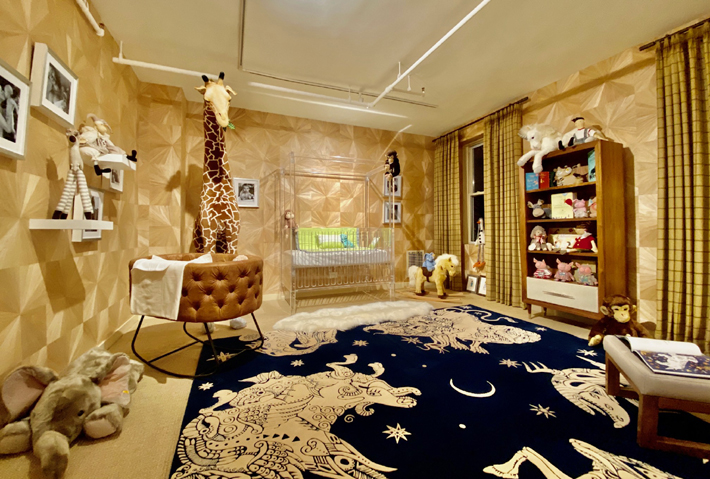 4th Floor Nursery Design by Rooms by Zoya B