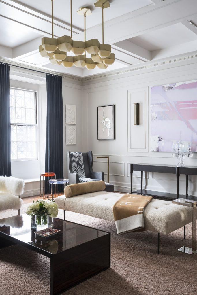 First Floor Reception Room by Jasmine Lam Interior Design + Architecture