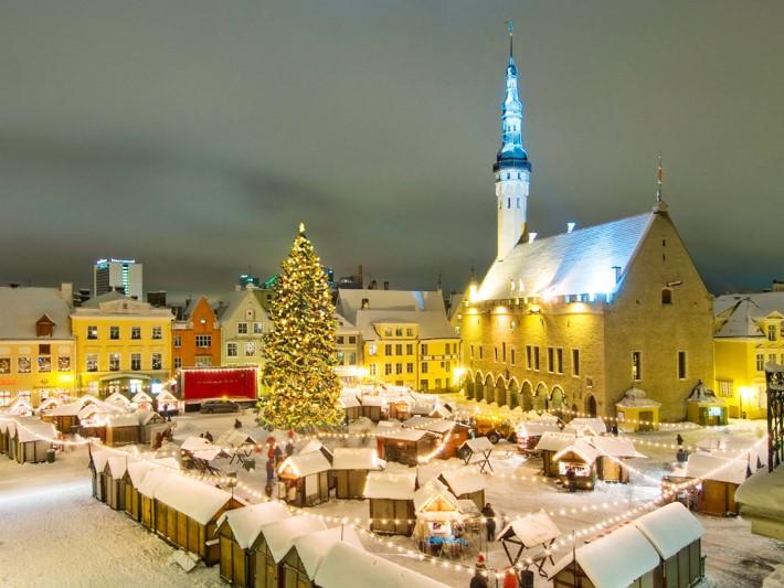 best Christmas Markets in europe - Tallinn estonia christmas market