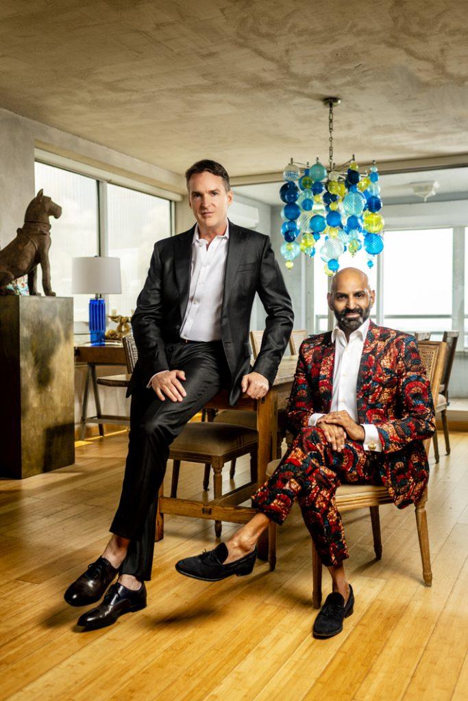 Thomas Fuchs, Creative Director, and Michou Mahtani, Director of PR, Marketing & Communications