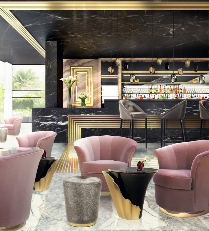 art decor design in a bar by koket