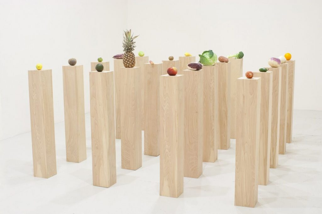 Fruits and Vegetables by Darren Bader at the Whitney Museum of Modern Art