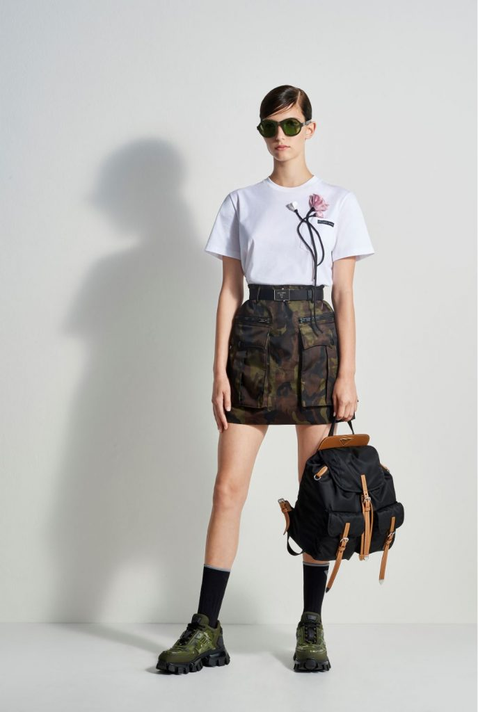 Prada Escape ready-to-wear outfit