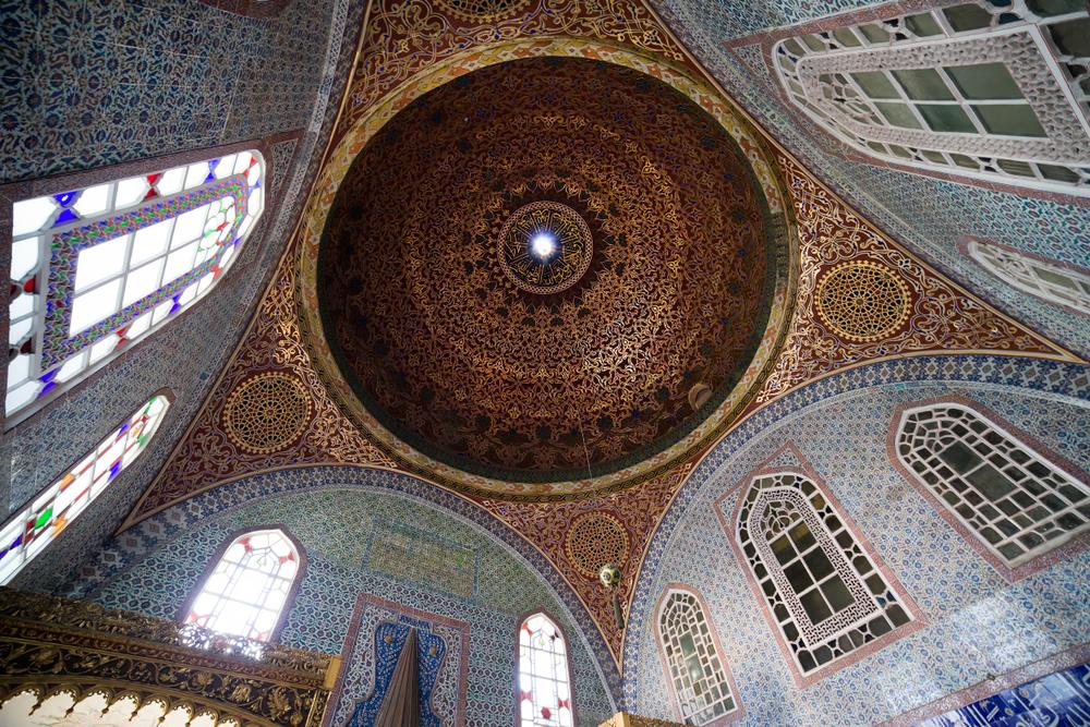 topkapi palace Istanbul Turkey.