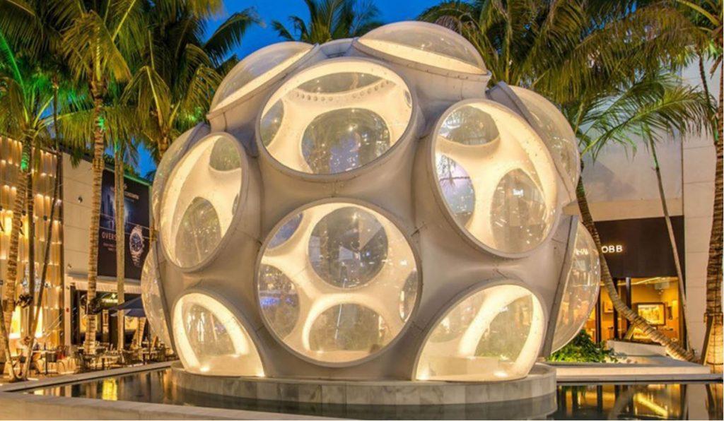 Art tours in Miami Design District