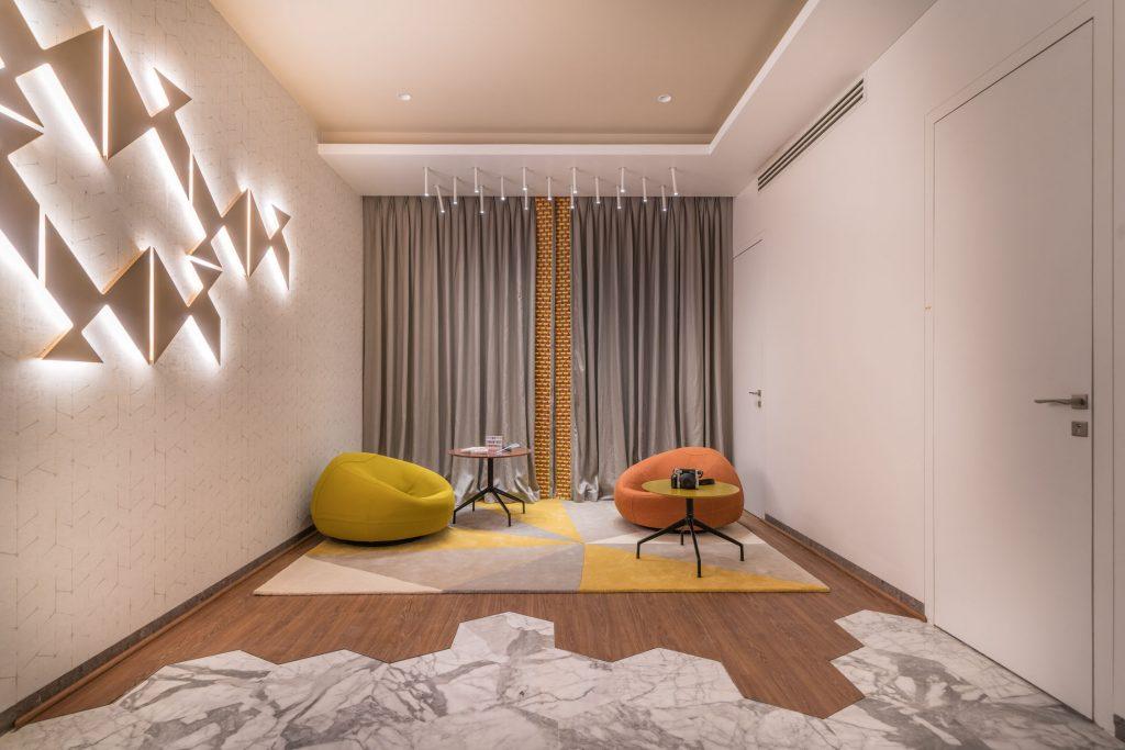colorful hobby room designed by baheti & associates